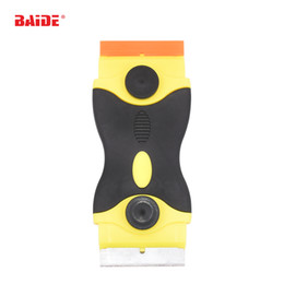 $enCountryForm.capitalKeyWord Canada - Yellow Drawknife Scraper With Metal Blade Plastic Blade Dual End Glue Remove Knife Shovel for iPad Phone Screen Repair Replace Tool 400pcs