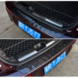 $enCountryForm.capitalKeyWord Australia - Inner Outer Rear Trunk End Trim Bumper Protection Guard Plate Sill Protector Scratch Cover for Mini Cooper Clubman F54 2015 2016 2017