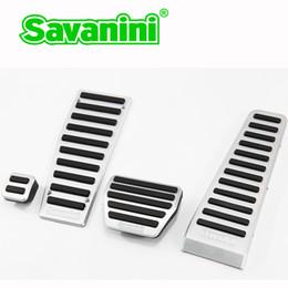 Auto Pedals NZ - Savanini Footrest Brake Gas Pedal Pad for Infiniti Q50 QX50 Q70 QX70 Q60G37 M25 EX FX Auto Cars. Aluminum no drilling