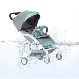 High Quality Baby Stroller 3 In 1 With Car Seat For Newborn Ultra Lightweight Folding Can Sit Lie Umbrella Unisex Trolley
