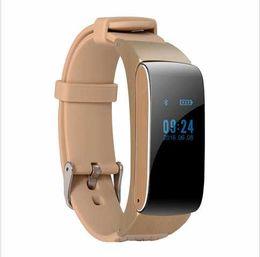 $enCountryForm.capitalKeyWord Canada - Original TalkBand DF22 Smart Bracelet Watch Wristbands Strap Bluetooth Earphone Fitness Band Phone Mate For IOS Android