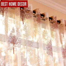 $enCountryForm.capitalKeyWord NZ - Best home decor finished sheer window curtains for living room the bedroom modern burnout tulle curtains window treatment blinds