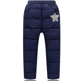 Chinese  Boys Pants For Girls Down Pants Winter Warm Children Clothes Kids Leggings Girl Clothing Boys Trousers Casual School Clothing manufacturers