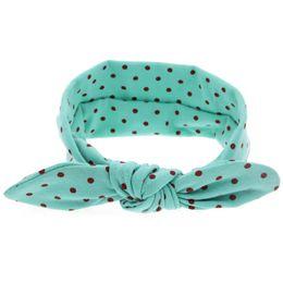 $enCountryForm.capitalKeyWord UK - New fashion hair accessories head bands for baby girls cute bunny dot acessorios diademas pelo kinderkleding meisjes
