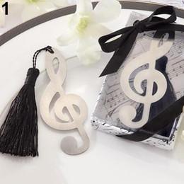$enCountryForm.capitalKeyWord Australia - Wholesale Korean Style Creative Musical Note Eagle Bear Love Alloy Bookmark Exquisite Gift