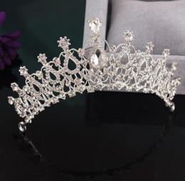 $enCountryForm.capitalKeyWord NZ - 2 Designs Crystal Alloy Wedding Bridal Headwear Headbands - Beautiful Crowns Wedding Decorations Hair Accessories Luxury Jewelry