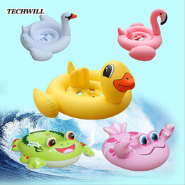 $enCountryForm.capitalKeyWord NZ - Cute Flamingo Frog Inflatable Ring Kids Bathing Circle Animal Swimming Circle Swimming Pool Accessories For 1- 6 Years Old Baby
