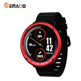Digital Wrist Gps Australia - LEMADO LF22 Smart Watch GPS Heart Rate For Men Professional Multi-sports Mode Watch Digital Pedometer Waterproof