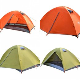 Family tent canvas online shopping - 2 Colors Camping Double Deck Tent Sets Anti Rainstorm Protection Multifunctional Field Shelters Suits Outdoors Sunshade Tool ty X