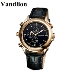 Discount mp3 voice recording watch Vandlion Digital Voice Recorders Wrist Watch Wristband Business Audio Recording Dictaphone MP3 Long Battery Life Sound R