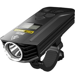 Dry Pack Shipping NZ - FREE Shipping Nitecore BR35 1800 Lumens 2xCREE XM-L2 U2 Dual Distance Beam Rechargeable Bike Light Built-In 6800mAh Battery Pack
