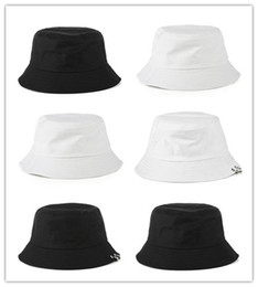 visors for beach Canada - Cheap Designer Cotton Foldable Bucket Hat For Adults Mens Womens Plain Custom Fishing Caps Spring Sunmmer Fall Blank Beach Sports Sun Visor