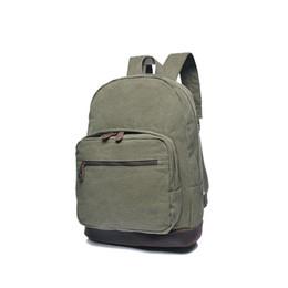 $enCountryForm.capitalKeyWord UK - 2018 New High School Backpacks Large Capacity Solid Fashion Leather Vintage Kids Book Bag Laptop Notebook Simple Packbag