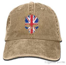 $enCountryForm.capitalKeyWord UK - pzx@ Baseball Cap For Men and Women, British Flag Skull Women's Cotton Adjustable Jeans Cap Hat Multi-color optional