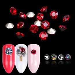$enCountryForm.capitalKeyWord NZ - 10pcs Diamond Nail Art Design Crystals Glass Nail Rhinestones Glitter Strass Round Gem Manicure Charm Nails Accessories JI990
