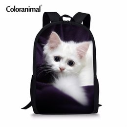 Luggage & Bags Coloranimal Children Baby School Bags 3d Cute Cat Kids Kindergarten Bookbag Holiday Gifts For Boys Girls Toddler Baby Backpack