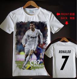 81e40fae9538 New arrival t shirt men women Cristiano Ronaldo 3D printed T-shirts casual  Harajuku style summer tops RH38