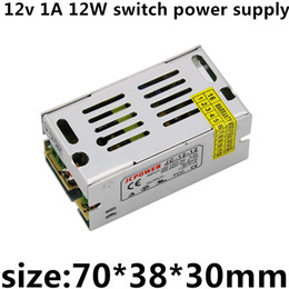 12w 12v power supply UK - AC110v-220v DC 12v 1A 12W 12v led strip led Module point Light string ligh apparat enough power high quality switch power supply