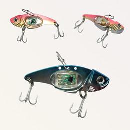 Led fishing Lure online shopping - LED fishing lures LED Lighted Bait New Flashing LED Flash Light Fishing Lure Bait Deepwater Crank Bass Pike Casting