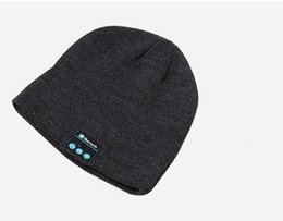 Hd sounds online shopping - 2018 Top selling Bluetooth Music Hat Comfortable Warm Dome Knit Cap Elastic Leisure Entertainment Sound HD