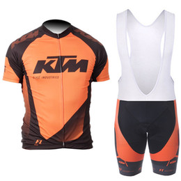11433b9f28f 2018 NEW KTM Summer Cycling Jersey bib short set MTB Bike Clothing Bicycle  Short Sleeves Wear shirt Maillot Ciclismo Outdoor Sportswear
