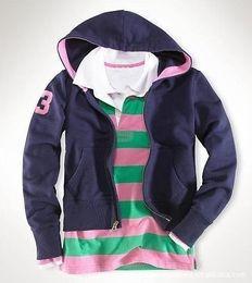Purple Polo Hoodie Australia - Offer Winter Women Polo Hoodies With Horse Solid Hooded Running Sweatshirts Jacket Coats
