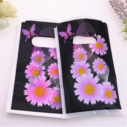 China Luxury Plastic Jewelry Packaging Bags With Flower Mini Gift Pouches New Design High Quality Wholesale 50pcs bag 9*15cm suppliers