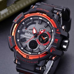 Water Resistant Gps NZ - New Smart Watches Student Sport Multi-function WristWatches Clock Waterproof Multicolor Water Resistant Function Alarm Auto Date