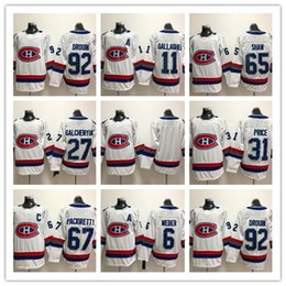 9be4dfee0 2018 Winter Classic Montreal Canadiens 31 Carey Price 6 Shea Weber 92  Jonathan Drouin Galchenyuk Pacioretty Shaw Gallagher Hockey Jersey