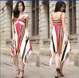 2018 spring explosions Amazon Europe and the United States fashion summer  large size women s new wrapped chest dress 465bfdec3112