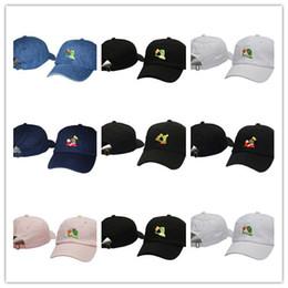 5e80f778cb1 Wholesale new LEBRON JAMES UNSTRUCTURED DAD CAP HAT SIPPING TEA BLACK KERMIT  hats kanye west bear dad cap casquette cotton