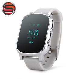 Gps Locator Map Australia - SOVOGU G02 Smart Watch GPS Bracelet Google Map GPS Bracelet Personal Tracker GSM Locator T58 Watch
