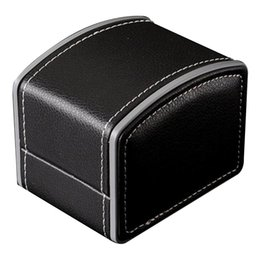 faux leather bracelets 2019 - Luxury Watch Winder Display Storage Holder Faux Leather Durable Bracelet Bangle Jewelry Watch Box Gift Case cheap faux l