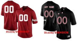 Football Cardinals Canada - Cheap Custom STANFORD CARDINAL College jersey Mens Women Youth Kids Personalized Any number of any name Stitched black red Football jerseys