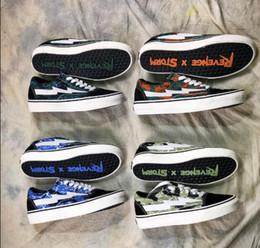 Nuovo 2018 Revenge X Storm Old Skool Canvas Uomo Scarpe Uomo Skateboarding Sport Sneakers Donna Skate Shoes Donna Sport Boots in Offerta