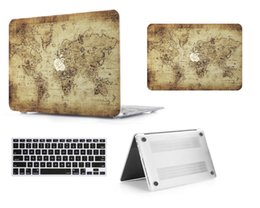 Macbook Retina 13 Inches Australia - Map-9 Oil painting Case for Apple Macbook Air 11 13 Pro Retina 12 13 15 inch Touch Bar 13 15 Laptop Cover Shell