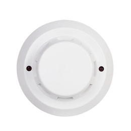 Chinese  Hot Sale 2 Wire DC24V Fire Alarm Network Conventional Photoelectric Smoke Detector Sensor For Fire Alarm System manufacturers
