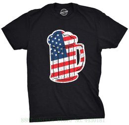 4813ae73637 Tshirts Mens Usa Beer Mug Tshirt Funny 4th Of July America Drinking Tee For  Guys Homme Interesting Pictures