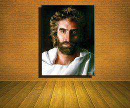 Иисус Христос по Akiane Krama, Главная современный абстрактный холст картины маслом HD печати стены искусства декор для гостиной украшения дома в рамке / Unframe