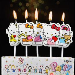 5 Photos Kids Birthday Cake Candles UK