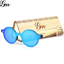 M Sunglasses Brands Canada - G M Bamboo And Wooden Sunglasses For Women In 2018 Wind Mirror Two Polarized Bamboo Sunglasses Brand Designer UV400 Sunglasses.
