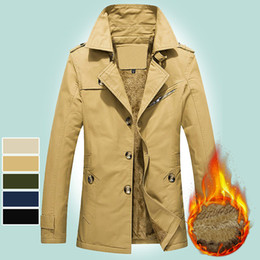 young clothes 2019 - Parka Men Coats 2018 Velet Winter Jacket Men Slim Thicken Outwear 5XL Warm Coat Young Boy Casual Clothing Men's Coa
