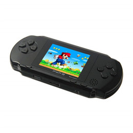 Slim gameS online shopping - 2 quot Screen Handheld Video Game Console Portable Game Players Bit Classic PXP3 Slim Station Color Pocket Gamepad Console