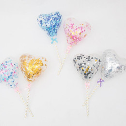 Shop heart wedding cake toppers uk heart wedding cake toppers free 2018 new clear love heart balloon cake topper dessert table decor accessories wedding birthday party decoration junglespirit Gallery