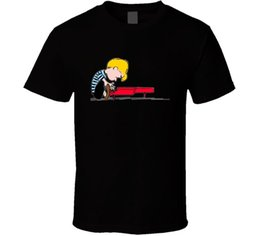 piano gifts Canada - Piano Man Peanuts Schroeder T-shirt Mens Tee Many Colors Fan Gift O - Neck Fashion Casual High Quality Print T Shirt