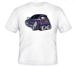 $enCountryForm.capitalKeyWord NZ - KOOLART TSHIRT - HONDA CIVIC- BLUE - 6 SIZES Mens Shirts Short Sleeve Trend Clothing Cheap Price 100 % Cotton Tee Shirts