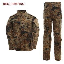 Chinese  Tactical US Army Camouflage Combat Uniform Men ACU Multicam Camo Clothing Set Outdoor Jacket + Pants Multicam manufacturers
