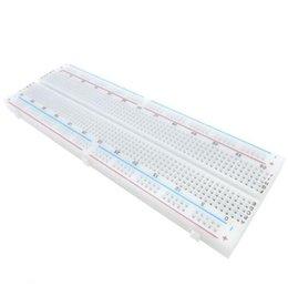 Бесплатная доставка!2 шт./лот макет MB-102 830 точка Solderless PCB хлеб доска MB102 тест разработать DIY для arduino на Распродаже