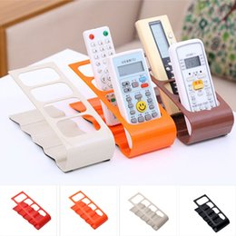 modern black beds 2019 - TV DVD Step Remote Control Storage Mobile Phone Holder Portable Stand Organiser 4 Frame Fashion Home Decor cheap modern