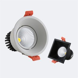 $enCountryForm.capitalKeyWord NZ - Round  Square Super 12W High quality Dimmable Downlights +Power Supply Fixture Recessed Ceiling Down Lights Home Lamps 110V 220V